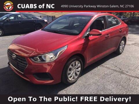 2018 Hyundai Accent for sale at Credit Union Auto Buying Service in Winston Salem NC