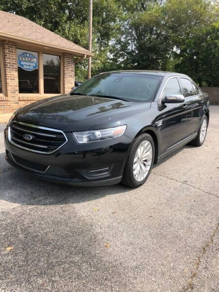 2017 Ford Taurus for sale at FRANK E MOTORS in Joplin MO