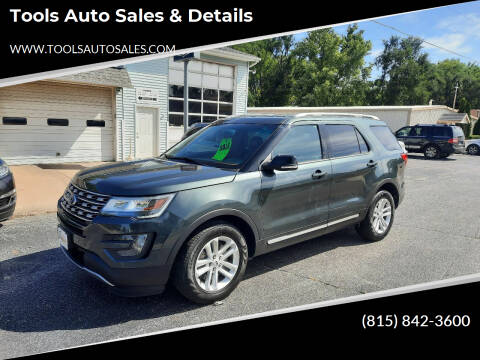2016 Ford Explorer for sale at Tools Auto Sales & Details in Pontiac IL