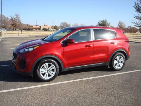 2017 Kia Sportage for sale at Texas Motors in Lubbock TX