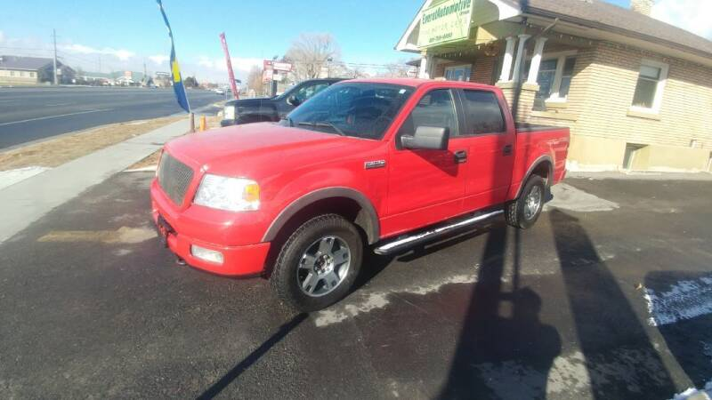 2005 Ford F-150 for sale at Everett Automotive Group in Pleasant Grove UT