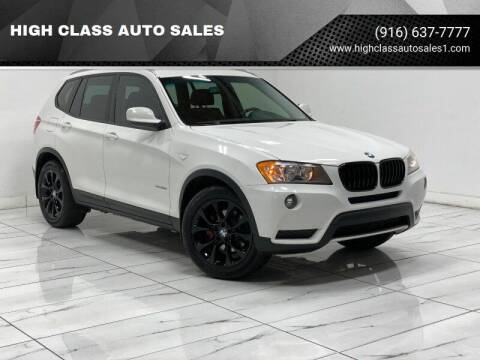 2012 BMW X3 for sale at HIGH CLASS AUTO SALES in Rancho Cordova CA