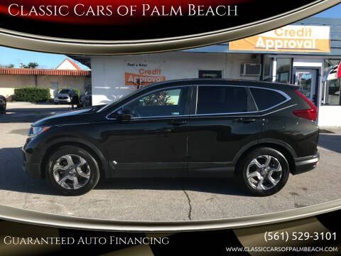 2018 Honda CR-V for sale at Classic Cars of Palm Beach in Jupiter FL