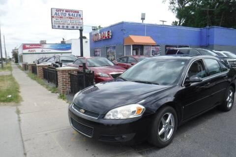 2006 Chevrolet Impala for sale at City Motors Auto Sale LLC in Redford MI