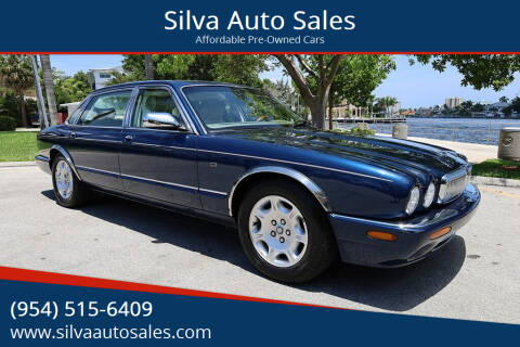 2002 Jaguar XJ-Series for sale at Silva Auto Sales in Pompano Beach FL