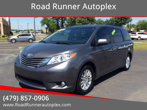2017 Toyota Sienna for sale at Road Runner Autoplex in Russellville AR