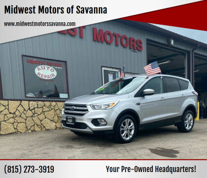 2017 Ford Escape for sale at Midwest Motors of Savanna in Savanna IL