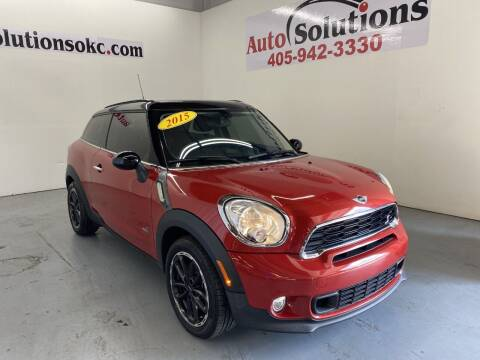 2015 MINI Paceman for sale at Auto Solutions in Warr Acres OK