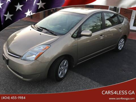 2006 Toyota Prius for sale at Cars4Less GA in Alpharetta GA