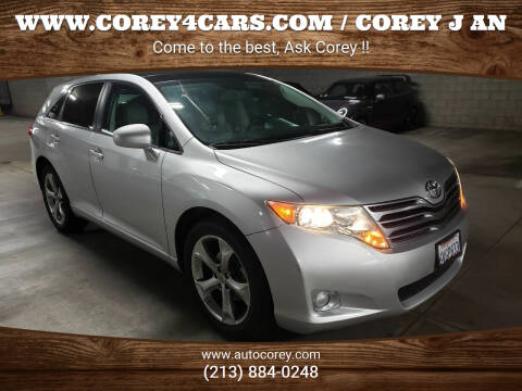 2011 Toyota Venza for sale at WWW.COREY4CARS.COM / COREY J AN in Los Angeles CA