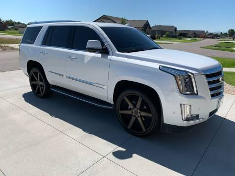 2018 Cadillac Escalade for sale at Quality Automotive Group Inc in Billings MT