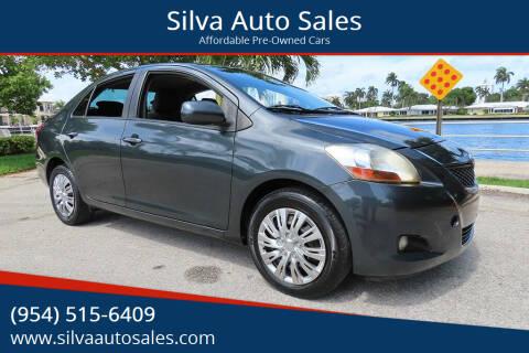 2010 Toyota Yaris for sale at Silva Auto Sales in Pompano Beach FL