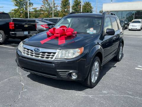 2012 Subaru Forester for sale at Charlotte Auto Group, Inc in Monroe NC