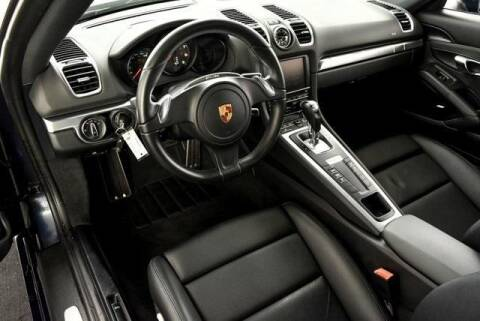 2016 Porsche Cayman for sale at CU Carfinders in Norcross GA