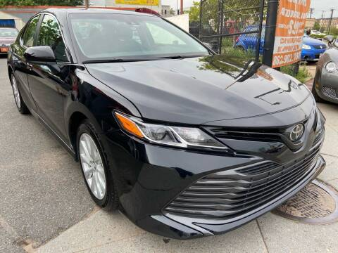 2018 Toyota Camry for sale at TOP SHELF AUTOMOTIVE in Newark NJ