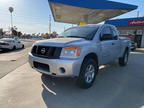 2013 Nissan Titan for sale at Top Quality Auto Sales in Redlands CA