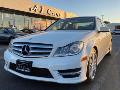 2012 Mercedes-Benz C-Class for sale at A1 Carz, Inc in Sacramento CA