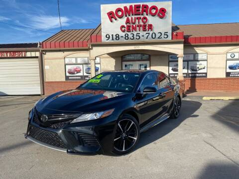 2018 Toyota Camry for sale at Romeros Auto Center in Tulsa OK