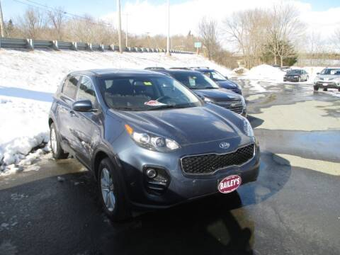 2017 Kia Sportage for sale at Percy Bailey Auto Sales Inc in Gardiner ME