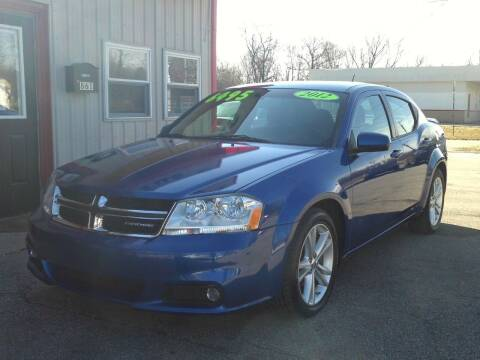 2012 Dodge Avenger for sale at Midwest Auto & Truck 2 LLC in Mansfield OH