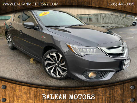 2016 Acura ILX for sale at BALKAN MOTORS in East Rochester NY