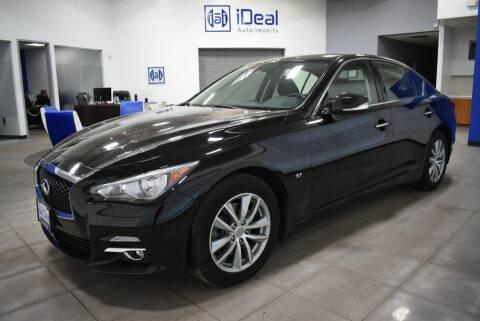 2015 Infiniti Q50 for sale at iDeal Auto Imports in Eden Prairie MN