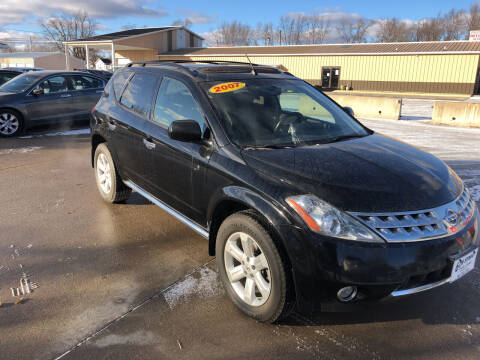 2007 Nissan Murano for sale at 6th Street Auto Sales in Marshalltown IA