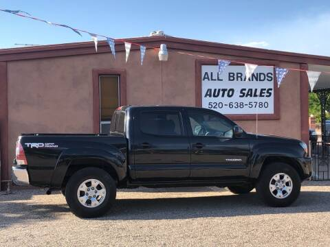 2010 Toyota Tacoma for sale at All Brands Auto Sales in Tucson AZ