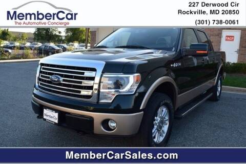 2013 Ford F-150 for sale at MemberCar in Rockville MD