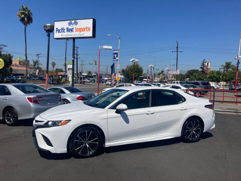 2020 Toyota Camry for sale at Pacific West Imports in Los Angeles CA