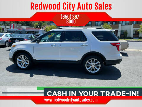 2014 Ford Explorer for sale at Redwood City Auto Sales in Redwood City CA