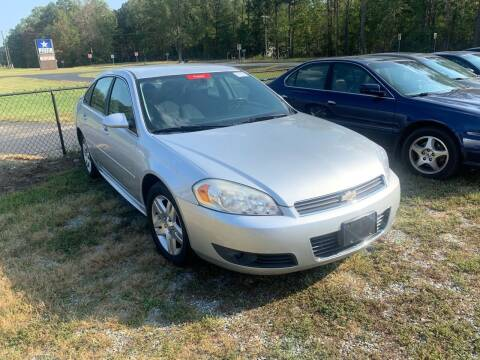 2011 Chevrolet Impala for sale at Premier Auto Solutions & Sales in Quinton VA