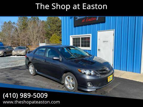 2011 Toyota Corolla for sale at The Shop at Easton in Easton MD