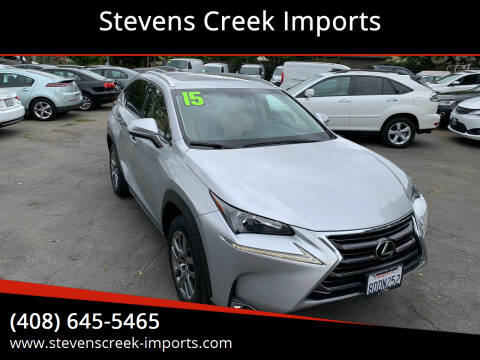 2015 Lexus NX 200t for sale at Stevens Creek Imports in San Jose CA