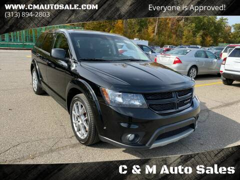 2014 Dodge Journey for sale at C & M Auto Sales in Detroit MI