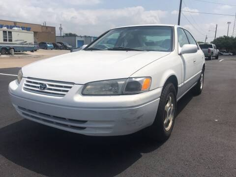 1997 Toyota Camry for sale at BJ International Auto LLC in Dallas TX