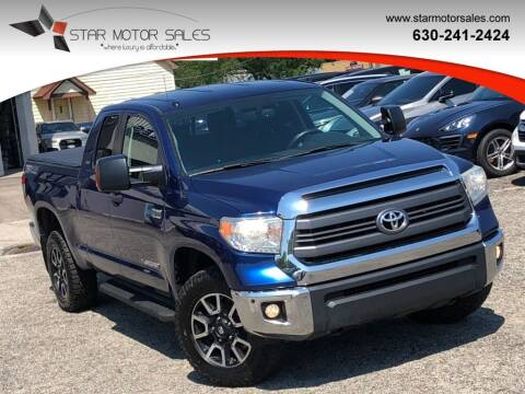 2014 Toyota Tundra for sale at Star Motor Sales in Downers Grove IL