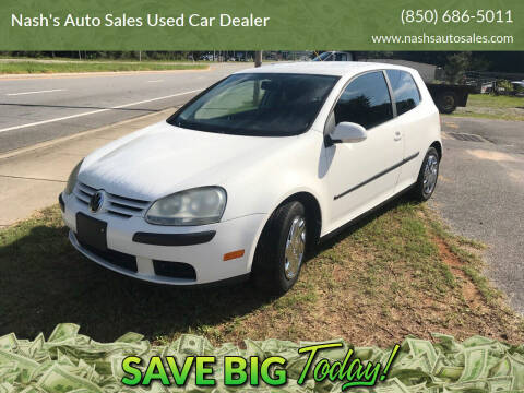 2007 Volkswagen Rabbit for sale at Nash's Auto Sales Used Car Dealer in Milton FL