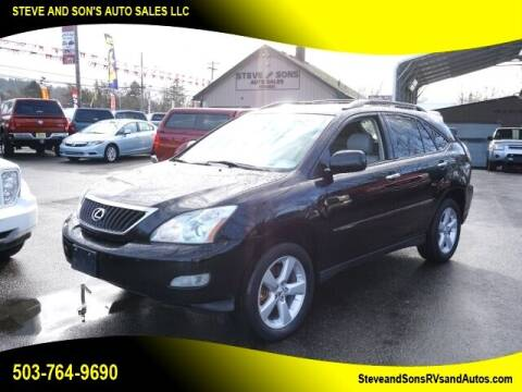2008 Lexus RX 350 for sale at Steve & Sons Auto Sales in Happy Valley OR