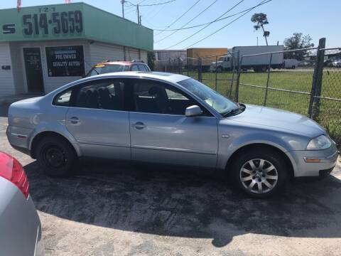 2003 Volkswagen Passat for sale at Jack's Auto Sales in Port Richey FL