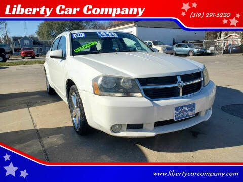 2008 Dodge Avenger for sale at Liberty Car Company in Waterloo IA