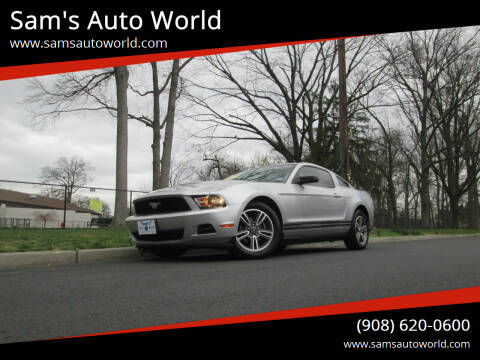 2010 Ford Mustang for sale at Sam's Auto World in Roselle NJ