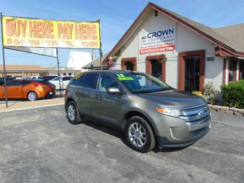 2013 Ford Edge for sale at Crown Used Cars in Oklahoma City OK