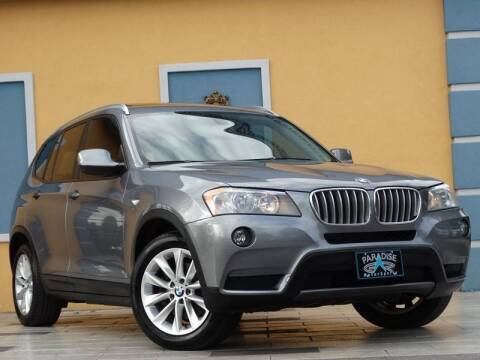 2014 BMW X3 for sale at Paradise Motor Sports LLC in Lexington KY