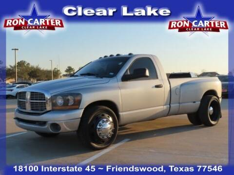 2007 Dodge Ram Pickup 3500 for sale at Ron Carter  Clear Lake Used Cars in Houston TX