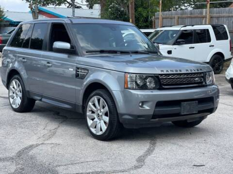 2013 Land Rover Range Rover Sport for sale at AWESOME CARS LLC in Austin TX