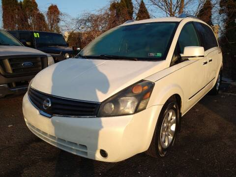 2008 Nissan Quest for sale at P J McCafferty Inc in Langhorne PA