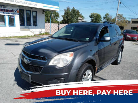 2010 Chevrolet Equinox for sale at E.L. Davis Enterprises LLC in Youngstown OH