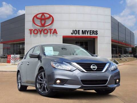 2018 Nissan Altima for sale at Joe Myers Toyota PreOwned in Houston TX