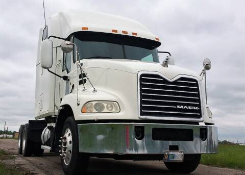 2010 Mack Pinnacle CXU613 for sale at A F SALES & SERVICE in Indianapolis IN